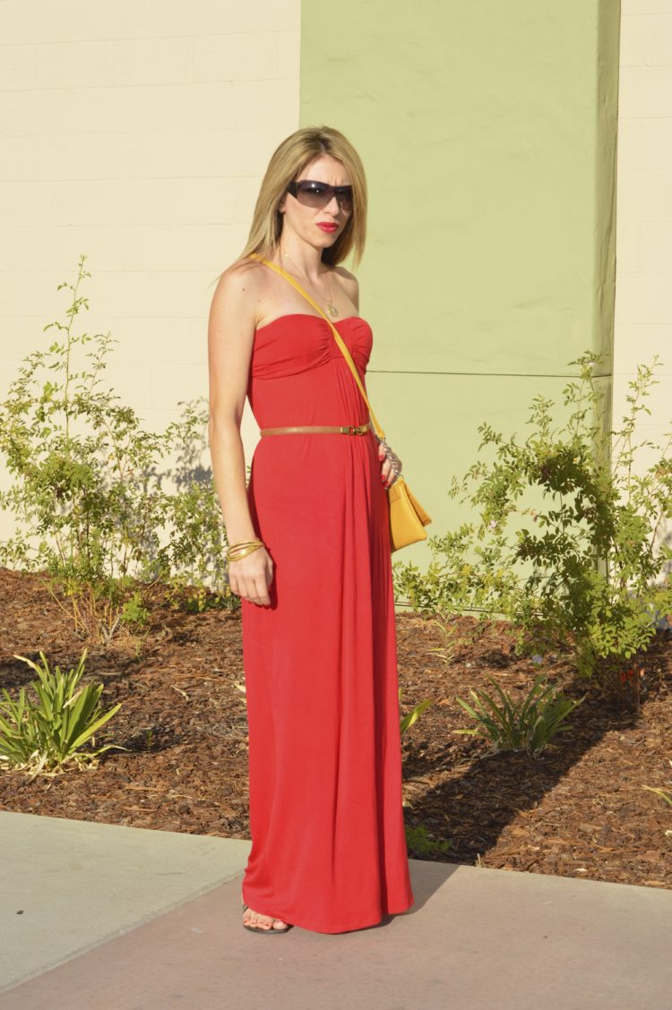 How to Style Red Maxi Dress? Let Me Help You