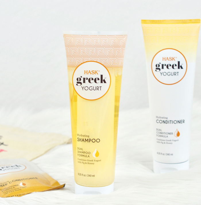 Hask Products -Greek Yogurt Hair Care Shampoo & Conditioner REVIEW