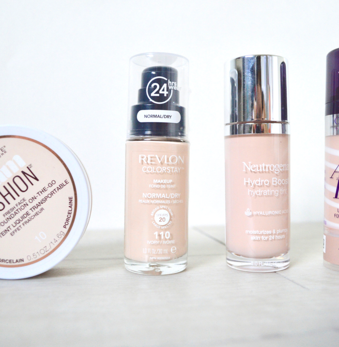 4 Drugstore Foundations For Dry Skin That You Will Love