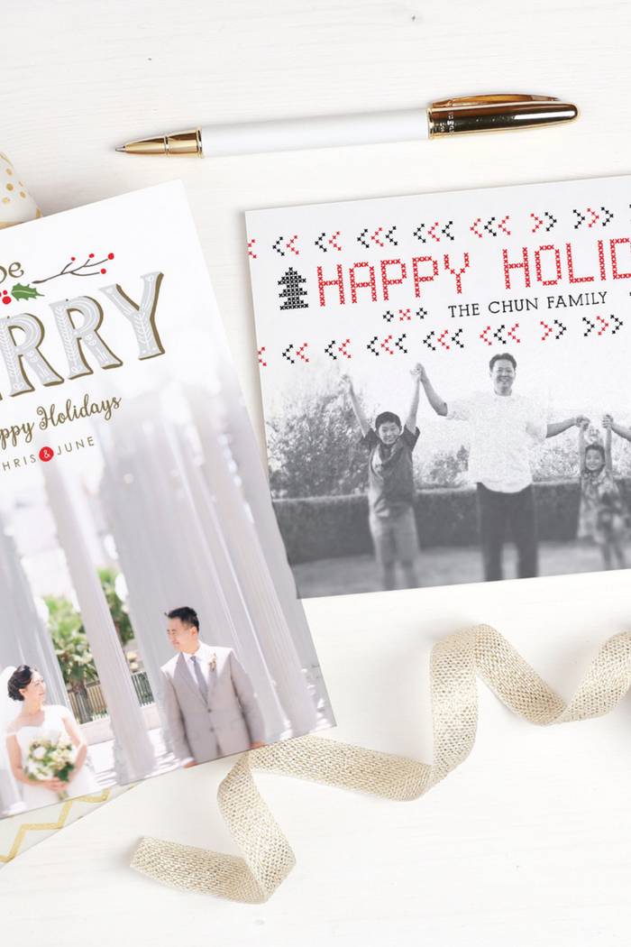 Custom Holiday Invitations by Basic Invite